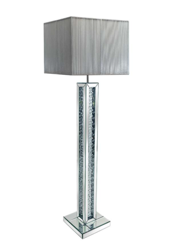 Rhombus Mirrored Table Lamp | Stunning