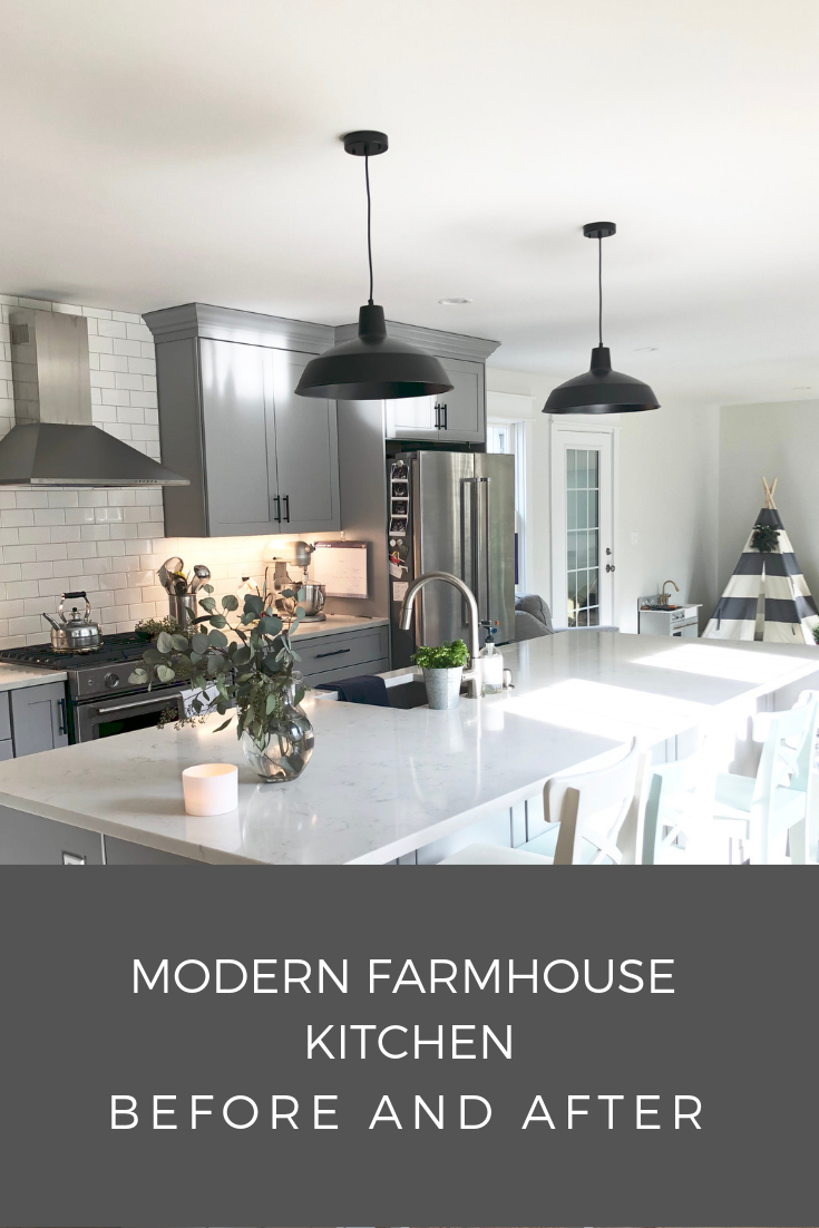 Modern Farmhouse Kitchen Before And After Trendy Farmhouse Kitchen Trendy Kitchen Tile Modern Farmhouse Kitchens