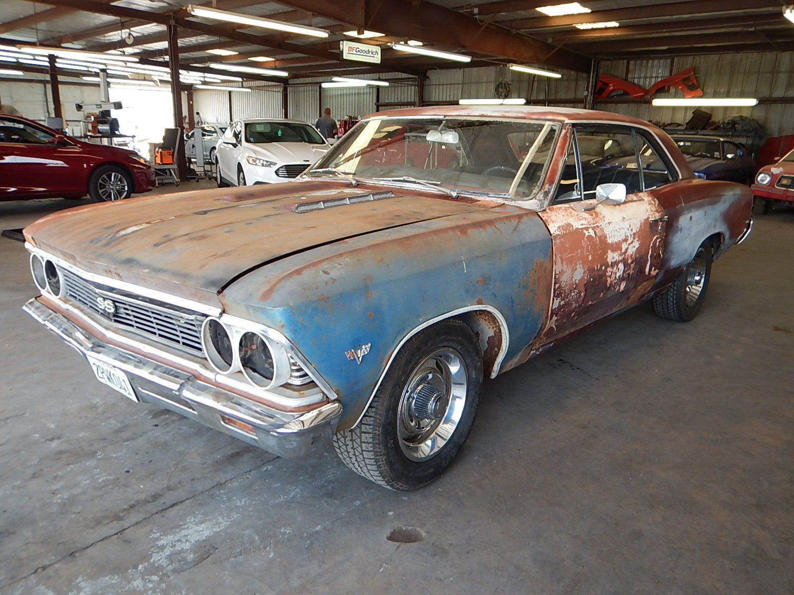 Complete body 1966 Chevrolet Chevelle COUPE project | Project cars ...