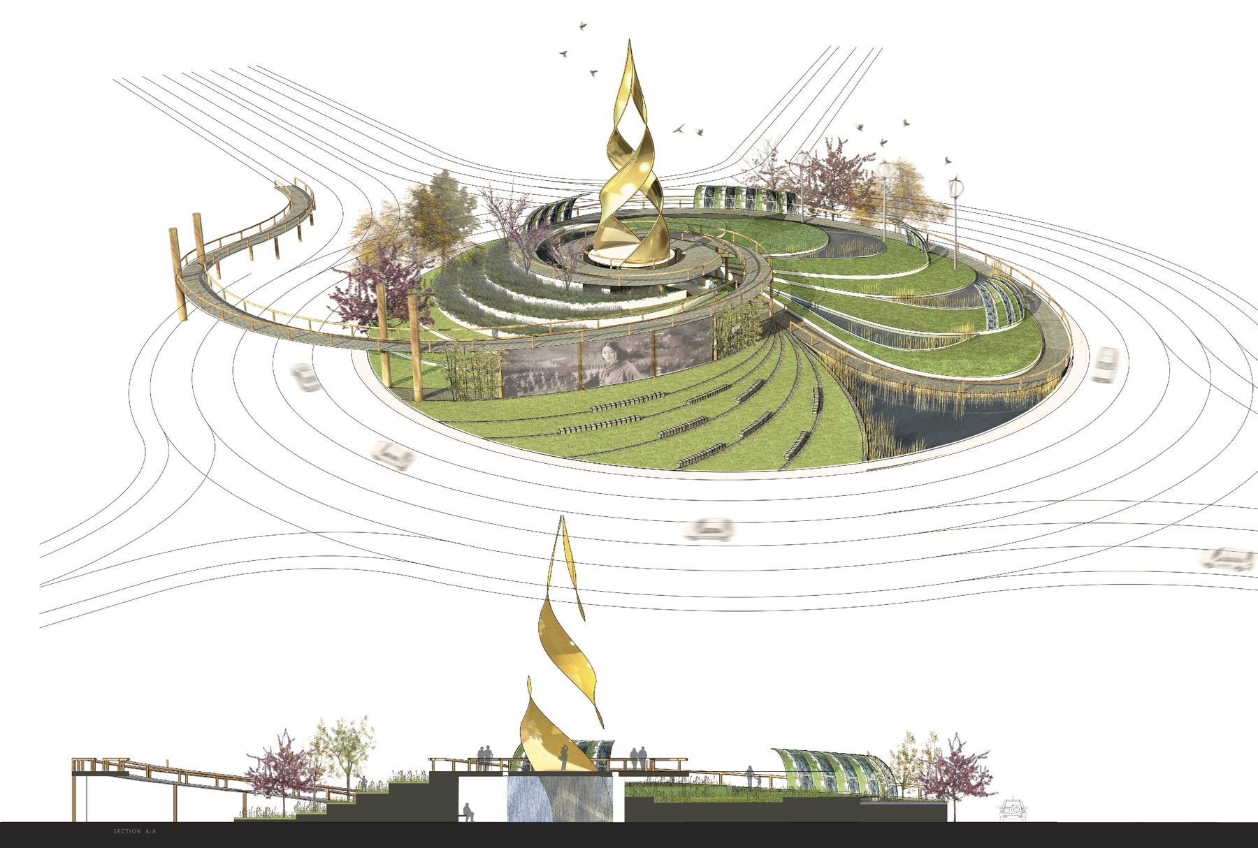 Best Designed Bike Roundabouts