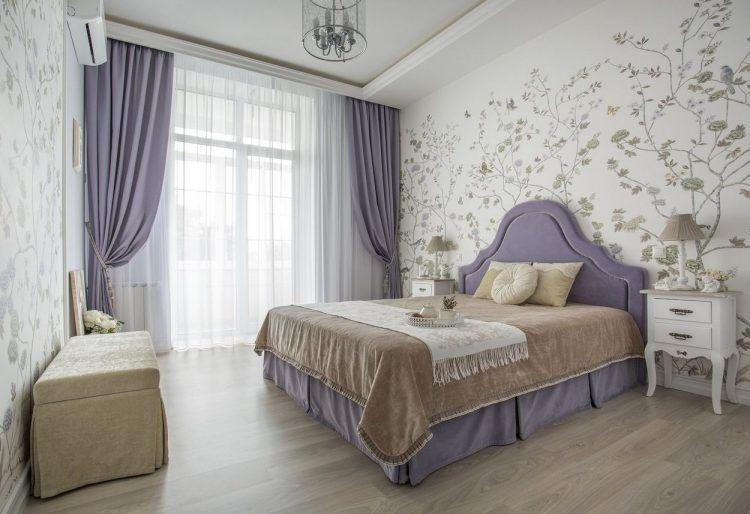 Szép lakások - 55m2-es kétszobás otthon, pasztell színek, lila és