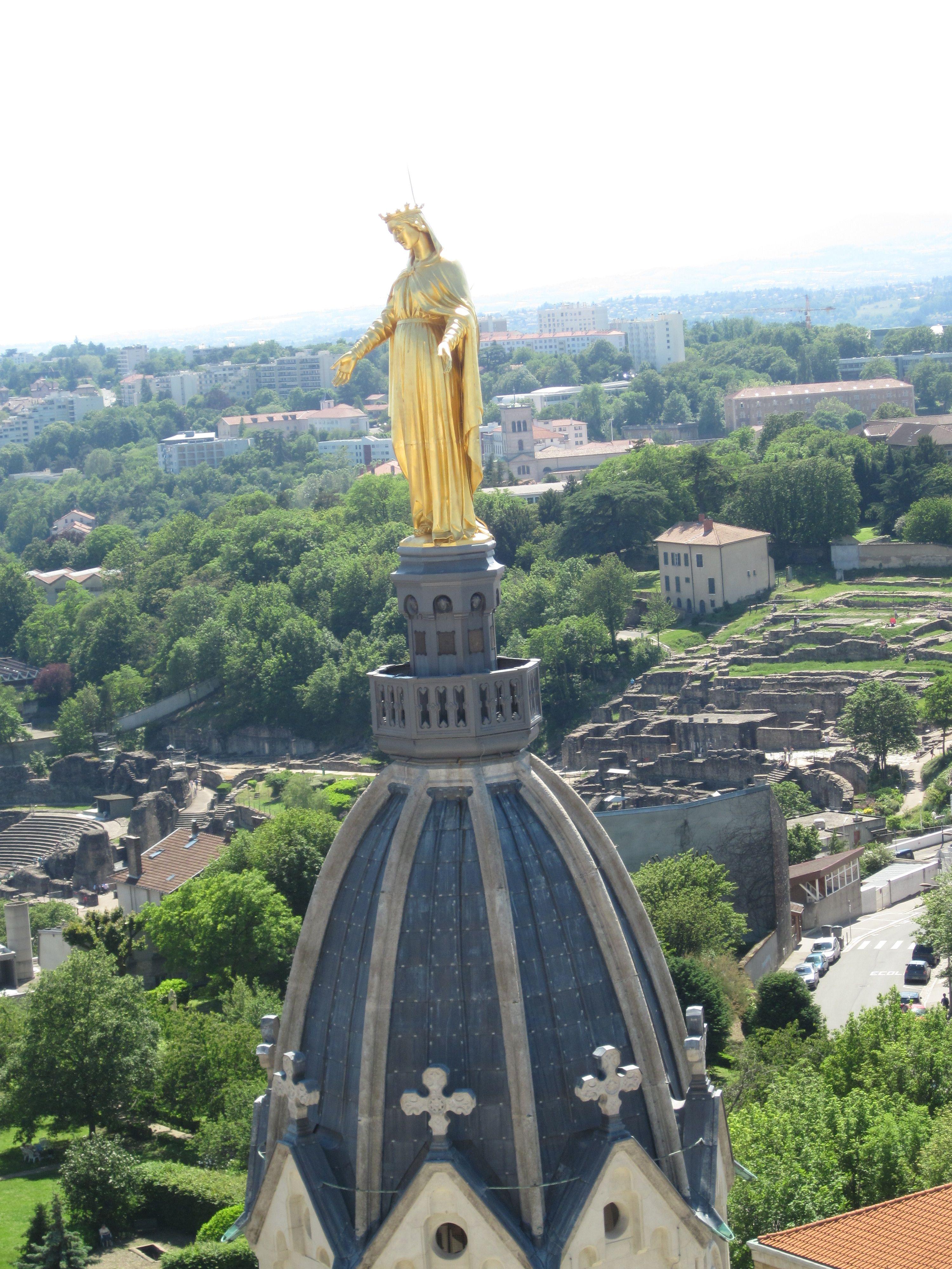 Basilique de Fourviere - Virgin Mary; Lyon, France