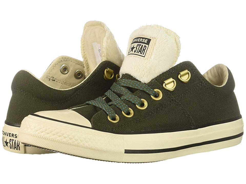 ed58a2a6d731ad Converse Chuck Taylor All Star Madison - Ox (Utility Green Natural Ivory  Black) Women s Lace up casual Shoes. Kick back and chill in this instant  classic ...