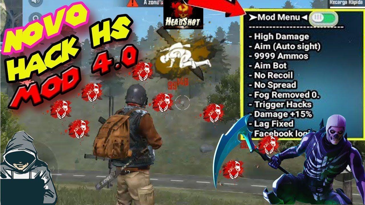 Novo Hack Free Fire Hs Mod Hs Free Fire Nova Atualizacao Download