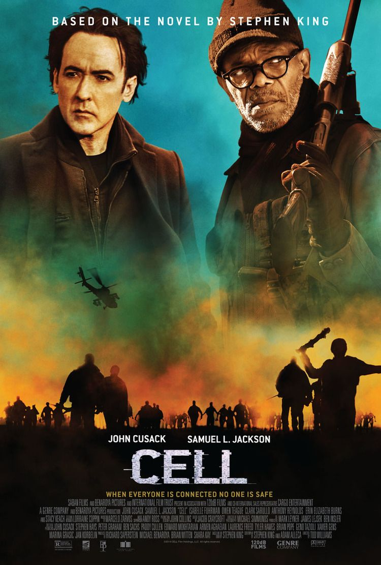 stephen king 39 s zombie film cell poster with john cusack movie posters pinterest 2016. Black Bedroom Furniture Sets. Home Design Ideas