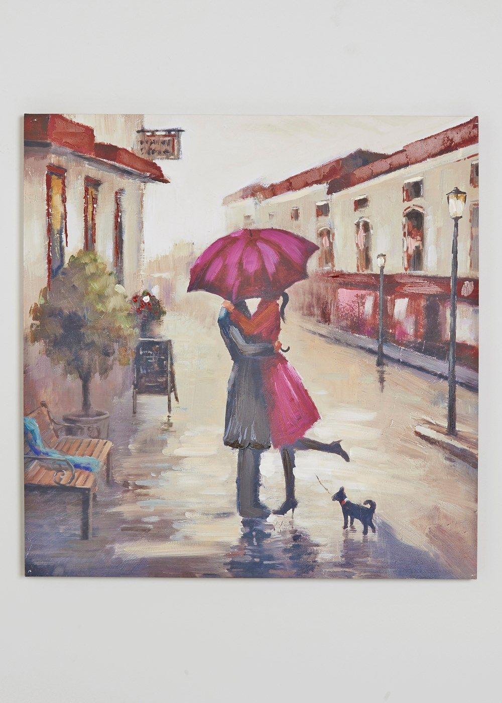 Couple Canvas Wall Art cm x cm Matalan painting