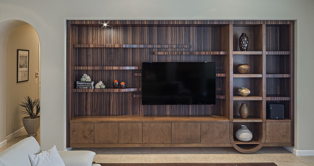 I Love This Gorgeous Dark Wood Entertainment Center The