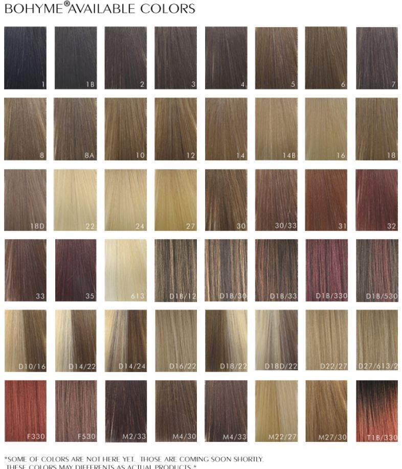 African American Hair Color Chart   Naturalmesta