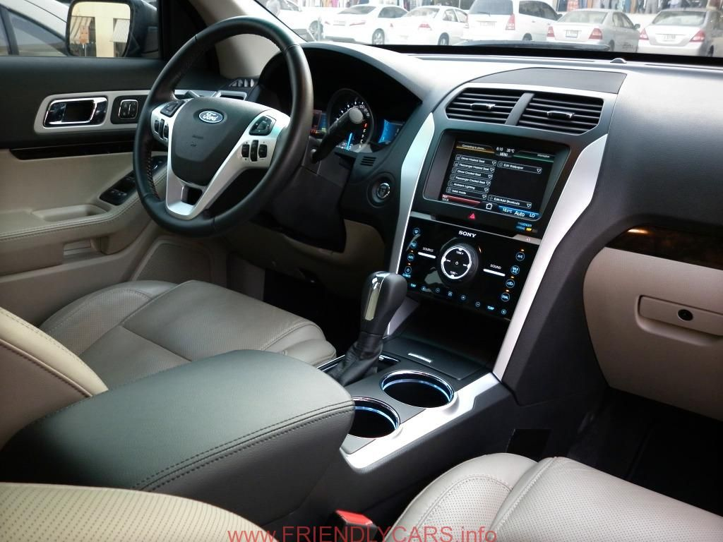 2016 Ford Explorer Sport Cockpit Jpg 2048 1360 With Images