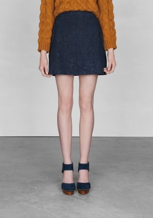 17 Best images about Suede on Pinterest | Fringe skirt, A line and ...
