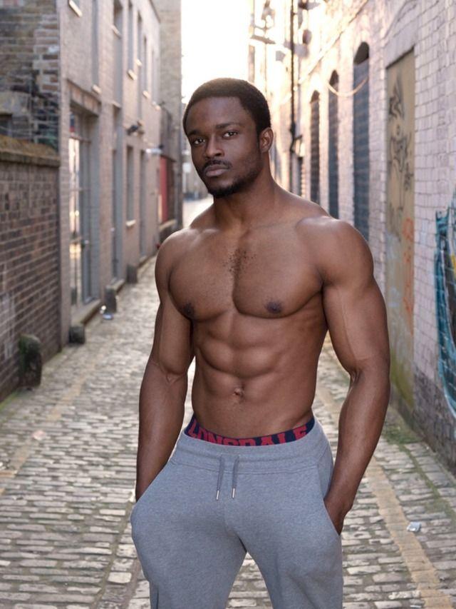 Sexy black young men