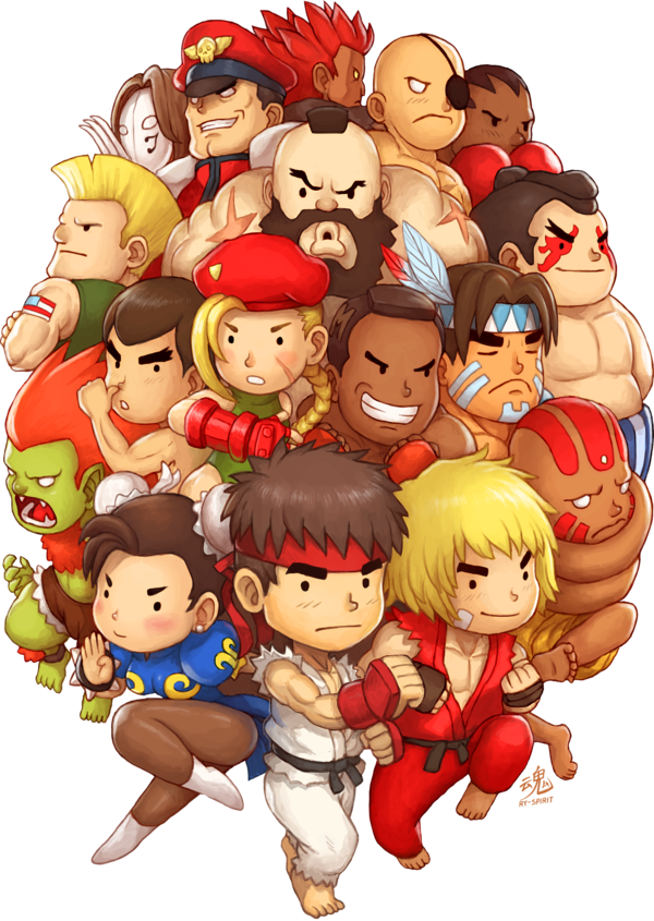 Super Street Fighter II Turbo by Ry-Spirit on DeviantArt