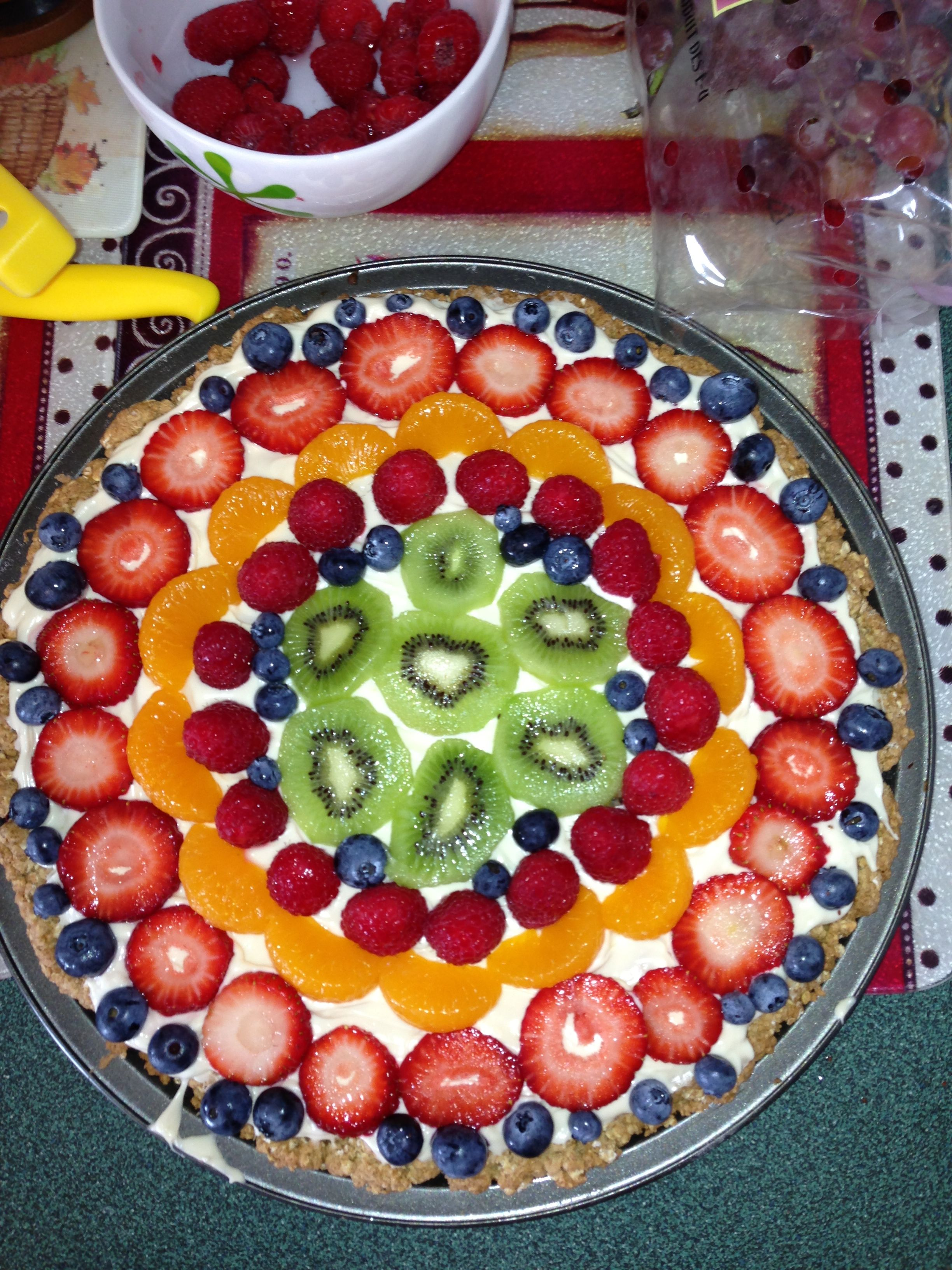 Pam's Fruit Pizza