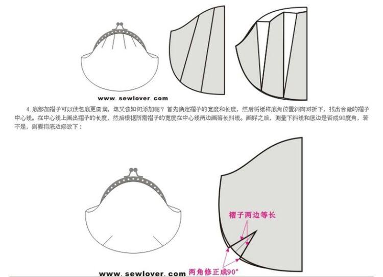 Как построить выкройку на сумку фото 380