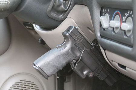 The Vehicle Holster Extreme Road Rage Enthusiasts Choice Well