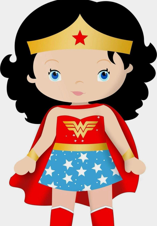 Nina Maravilla Cumpleanos De La Mujer Maravilla Superheroes Infantiles Mujer Maravilla Fiesta