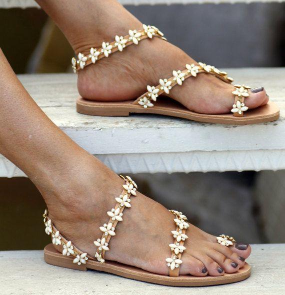 cbb16868bca2 Bridal Sandals Natalie handmade to order by ElinaLinardaki on Etsy