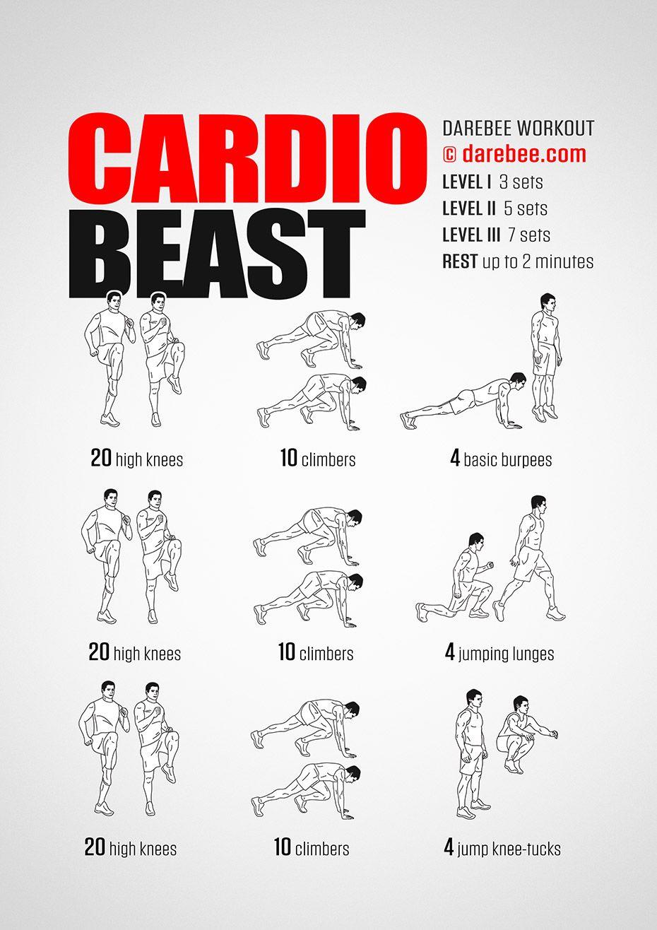 Cardio Workout - Cardio Exercise Challenge