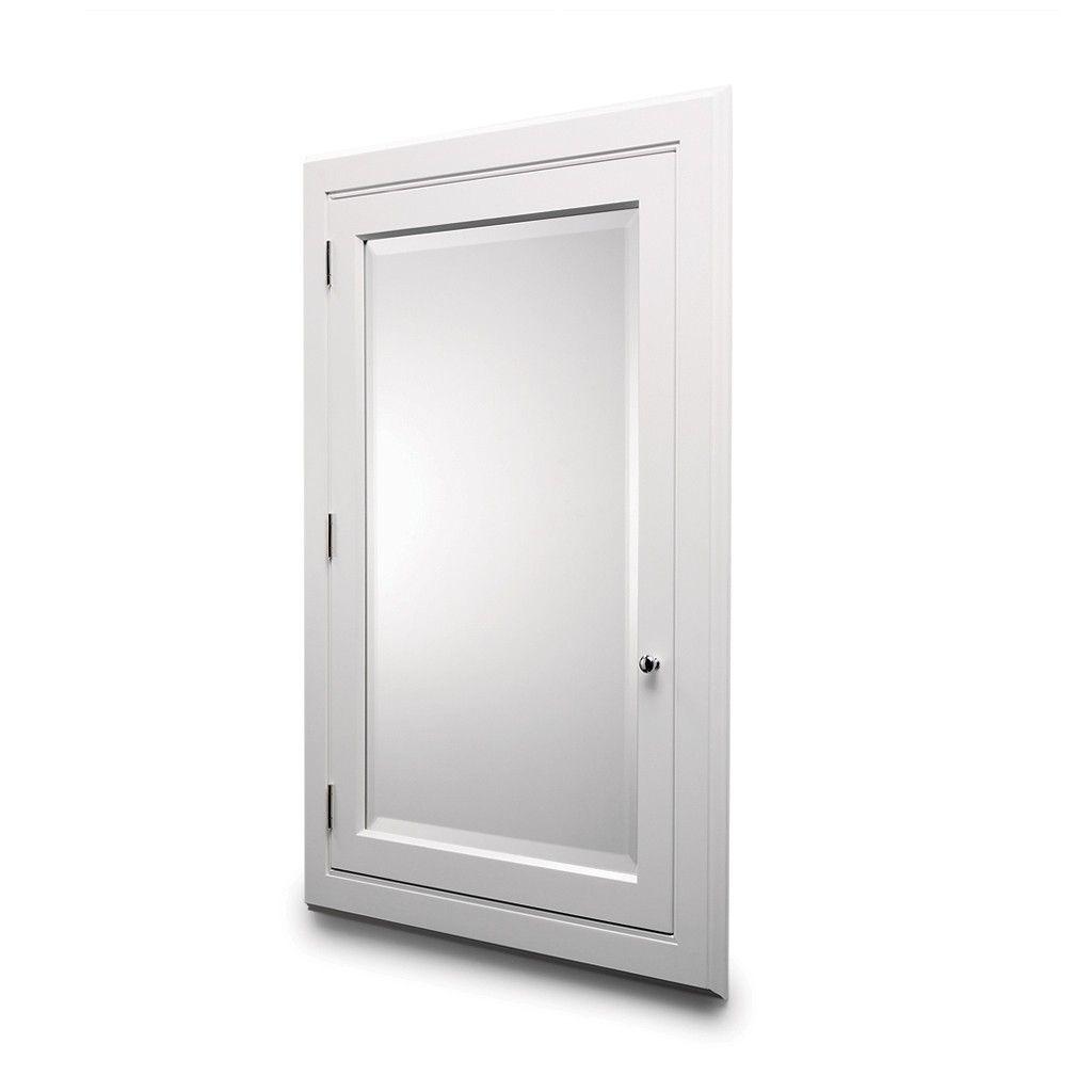 recessed medicine cabinet aluminum cabinets bernstein bathroom deco