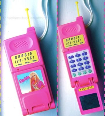 Barbie Super Talking Flip Phone - Totally Awesome 90's Tech Toys Had