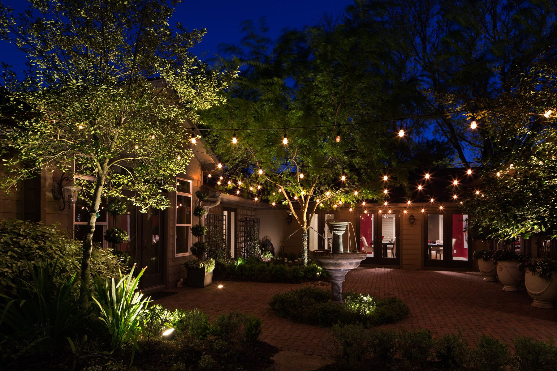 Back Yard Lighting And Party Houston Tx