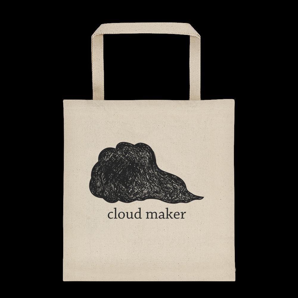 Cloud Maker Canvas Tote