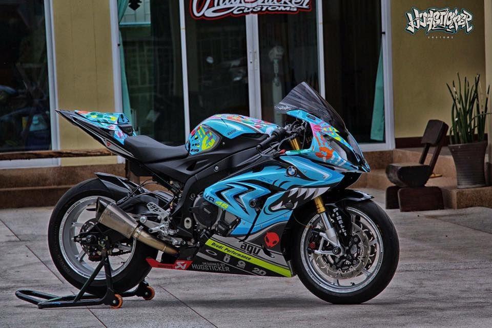 Bmw S1000rr 2017 Custom Bigbike Design By Hugsticker Customs