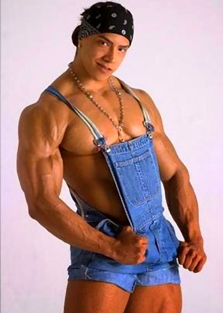 men latino trent Wade muscle