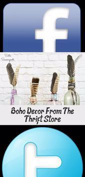 Boho Decor From The Thrift Store - Decoration  Boho decor is such a fun and exotic way to furnish your home these days, but it doesn't have to break the bank! Sadie Seasongoods gets the modern bohemian home decor / gypsy decor look at the thrift store and with some upcycling ideas. Get all the DIY details at www.sadieseasongo... . #bohodecor #bohoh    This image has get 0 repins.    Author: Michelle Spivey #Boho #decor #decoration #STORE #Thrift