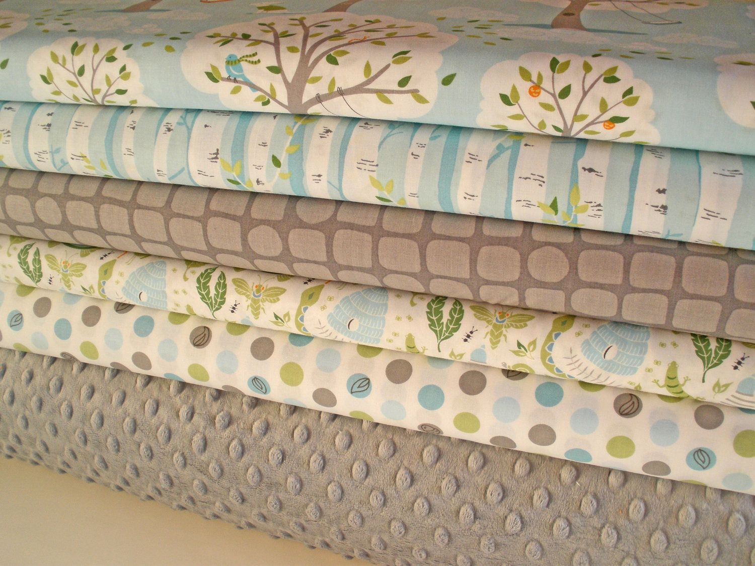 Backyard Baby and Minky Fabric Bundle, Complete Kit to ...