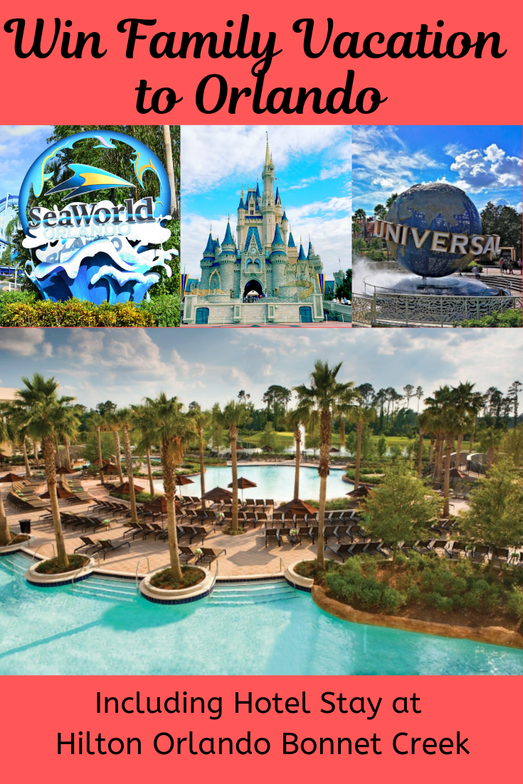 Family Vacation Giveaway to Orlando! Travel sweepstakes