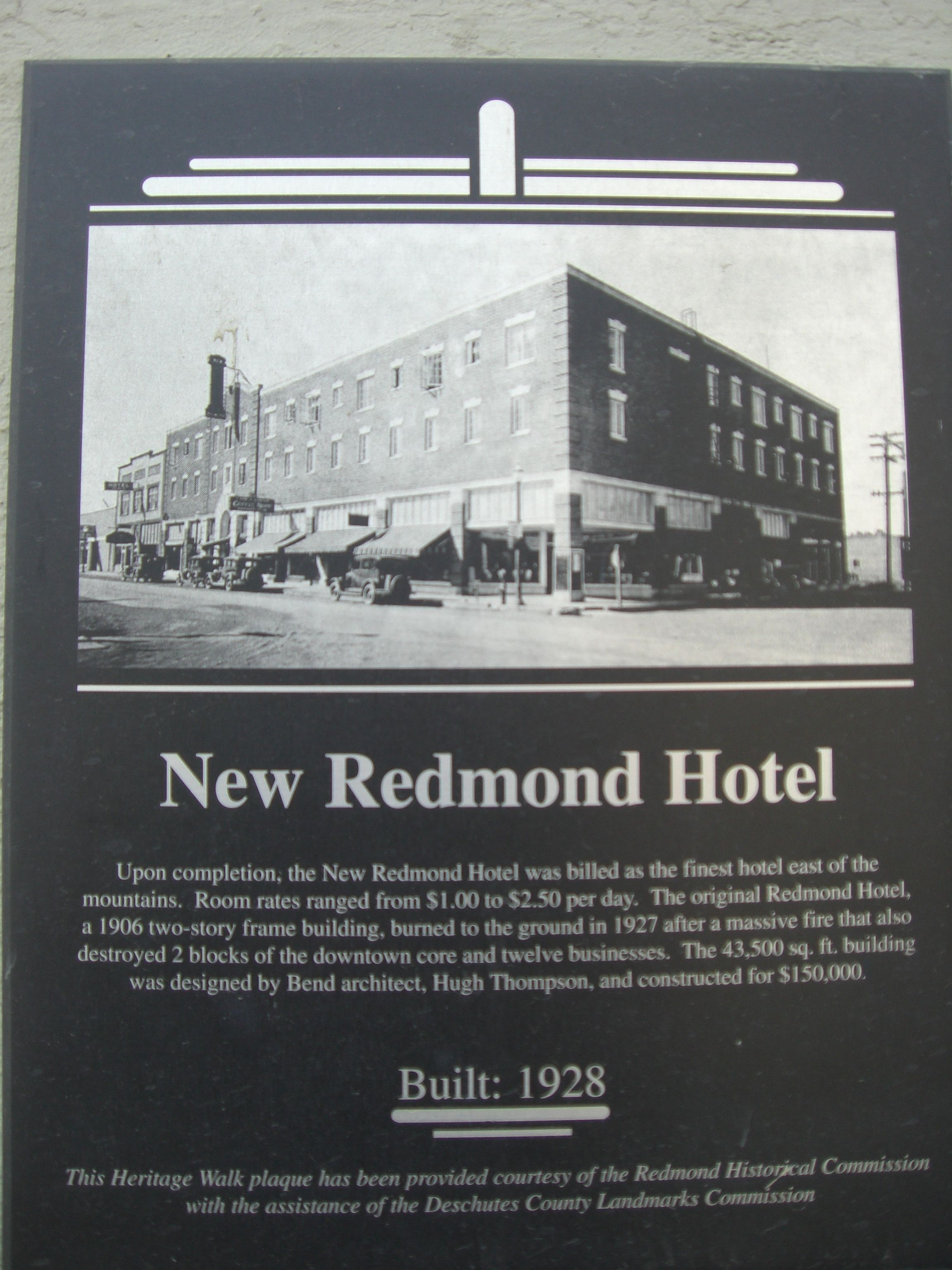 Best Value Historic New Redmond Hotel In Or