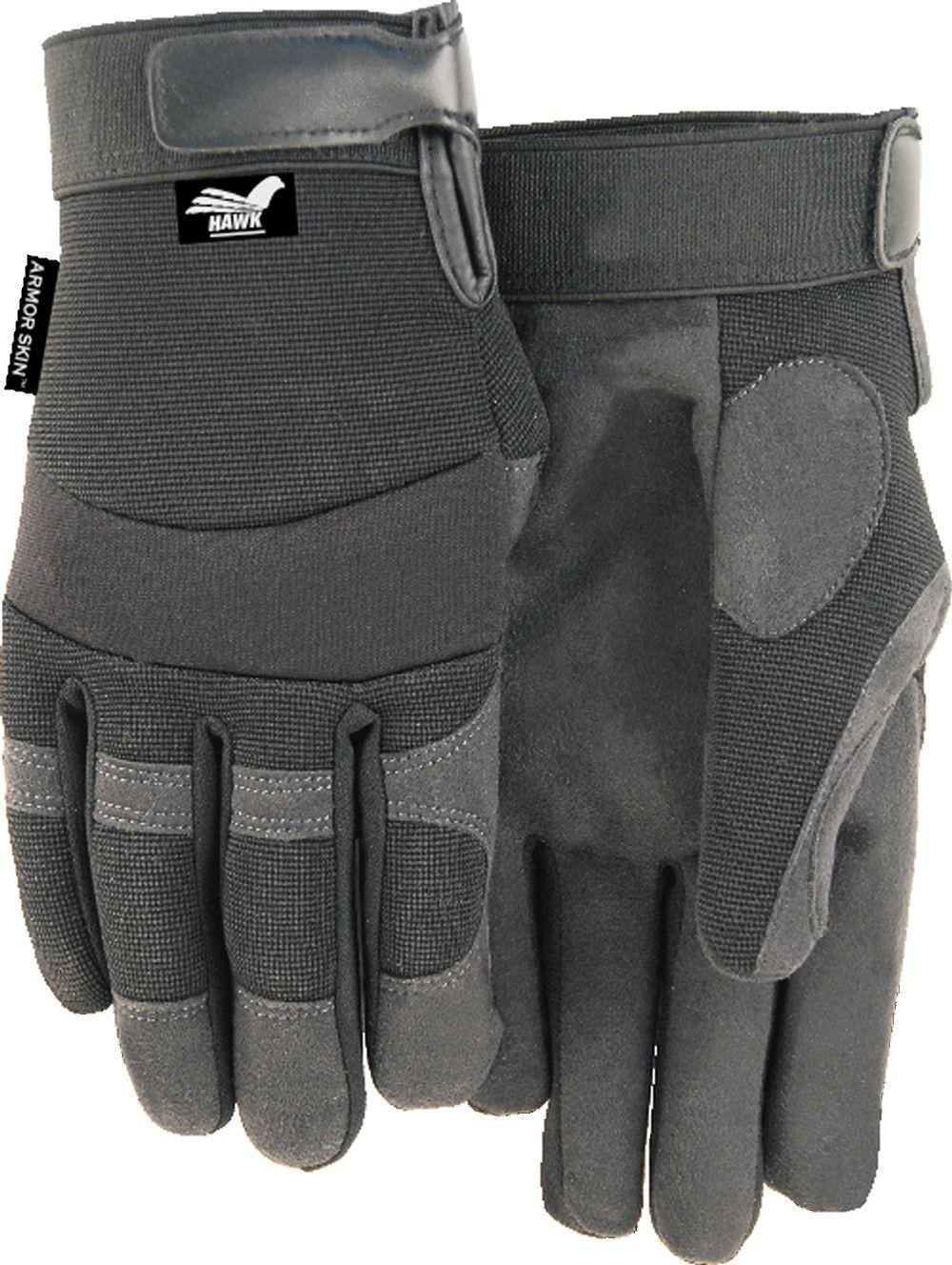 Majestic Winter Hawk 2137bkf Armor Skin Mechanic Style Gloves