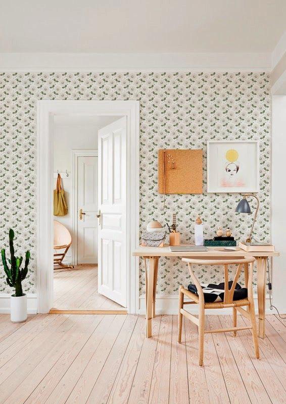 Light selfadhesive vinyl Wallpaper wall decal Flower