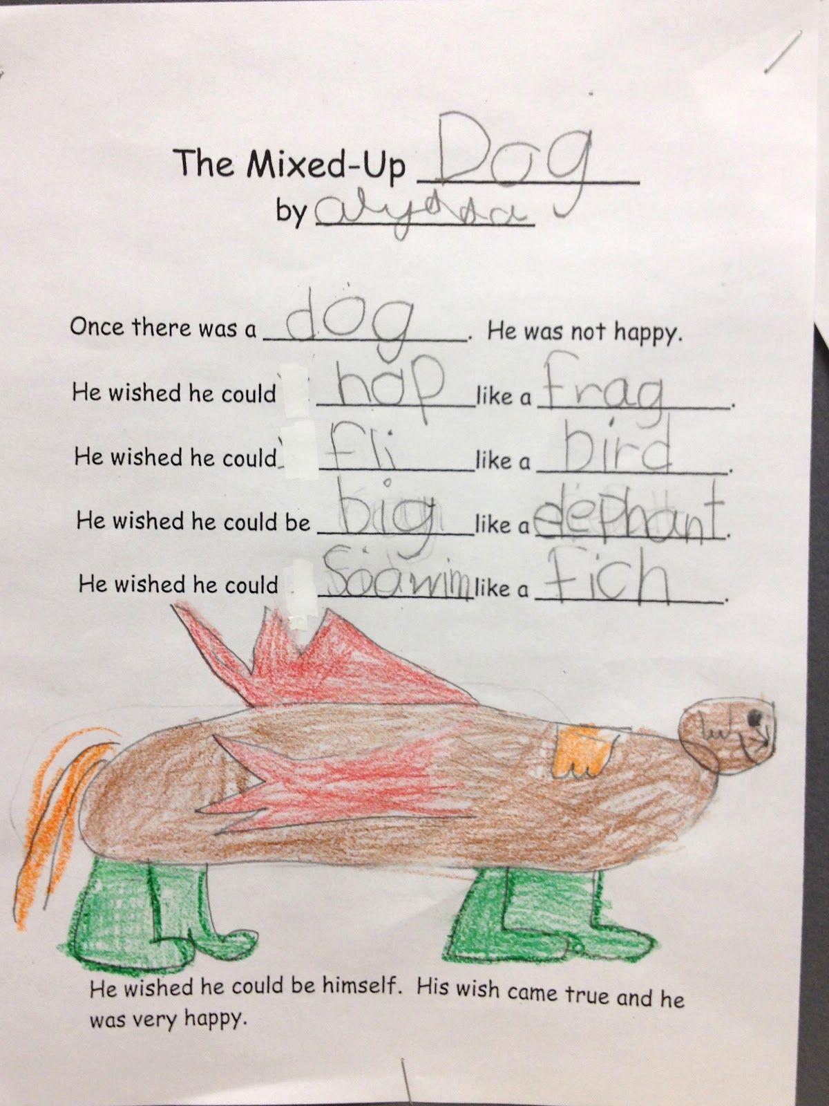 The Mixed Up Chameleon Eric Carle Kindergarten Author Study