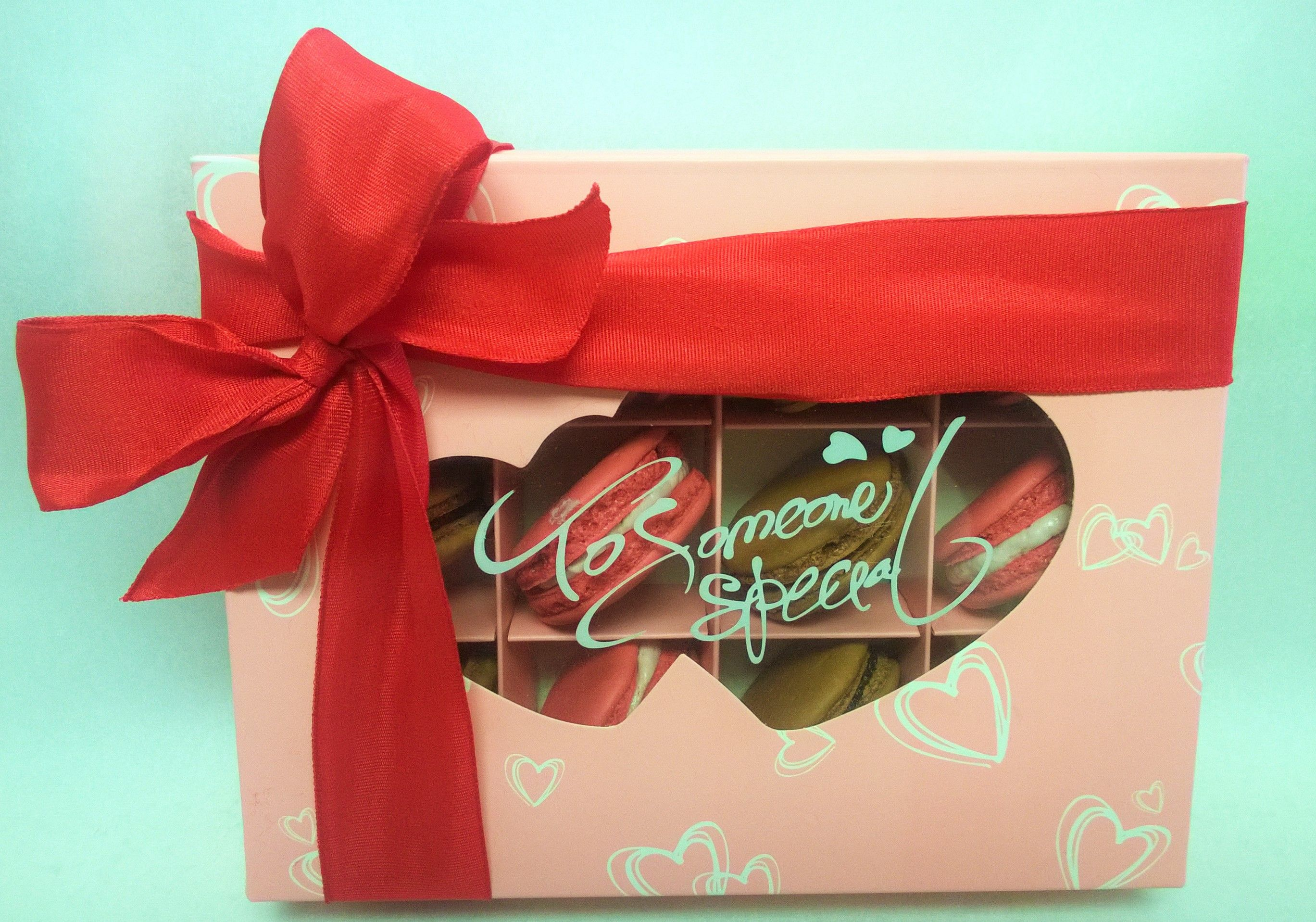Valentines Day Macaron Gift Box for that special someone in your life.