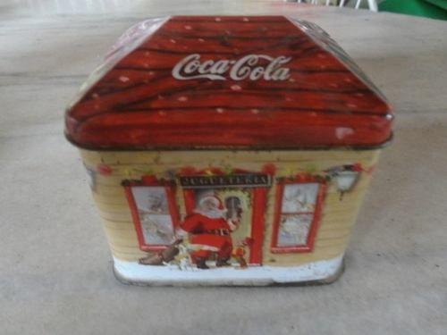 latinha vintage natalina da coca-cola