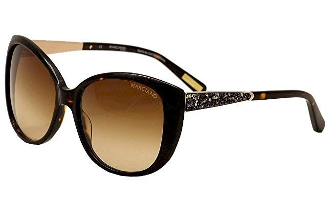 453b297377b Guess By Marciano Women s GM722 GM 722 TO-34 Tortoise Cat Eye Sunglasses  58mm Review
