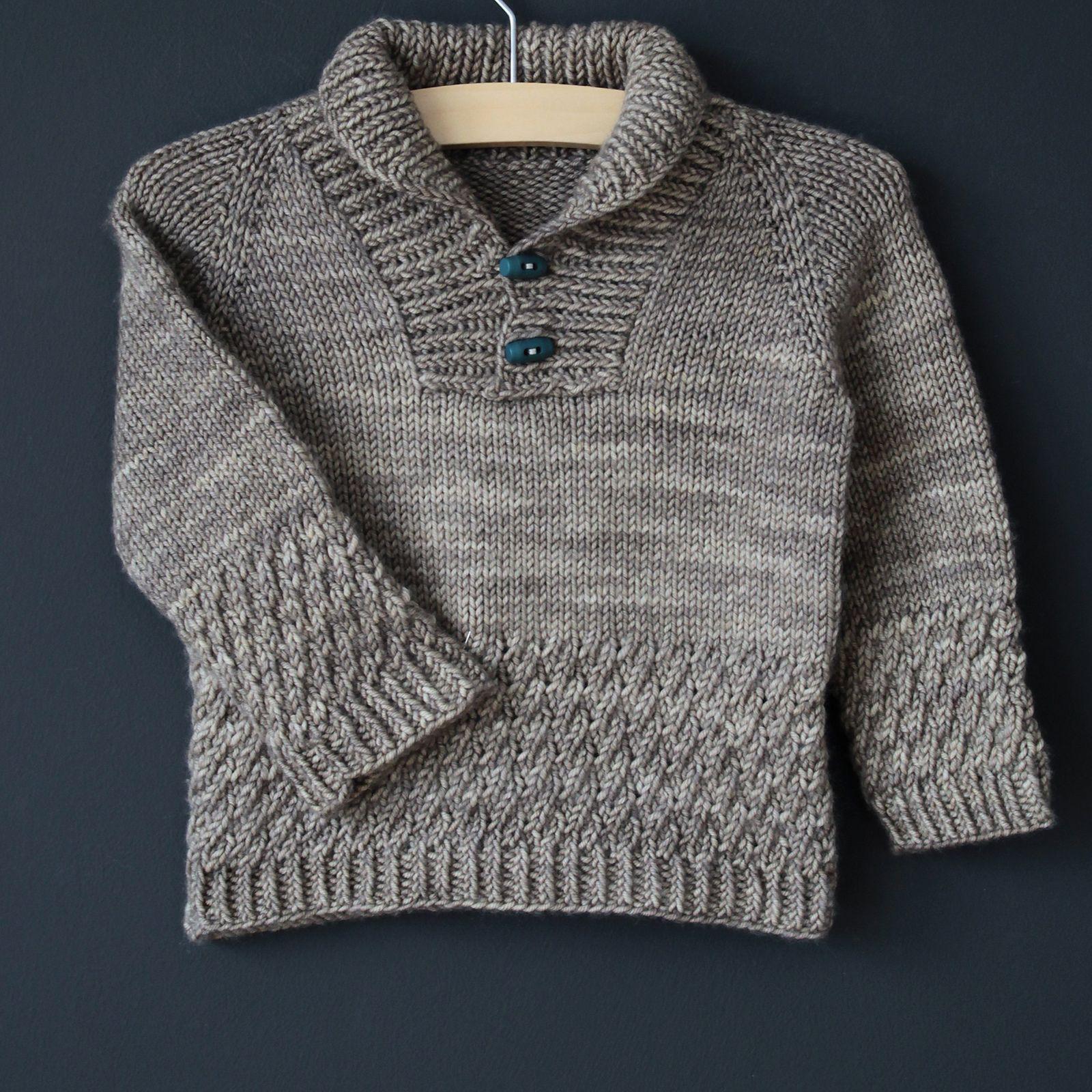 Boy Sweater pattern by Lisa Chemery   Boys sweaters ...