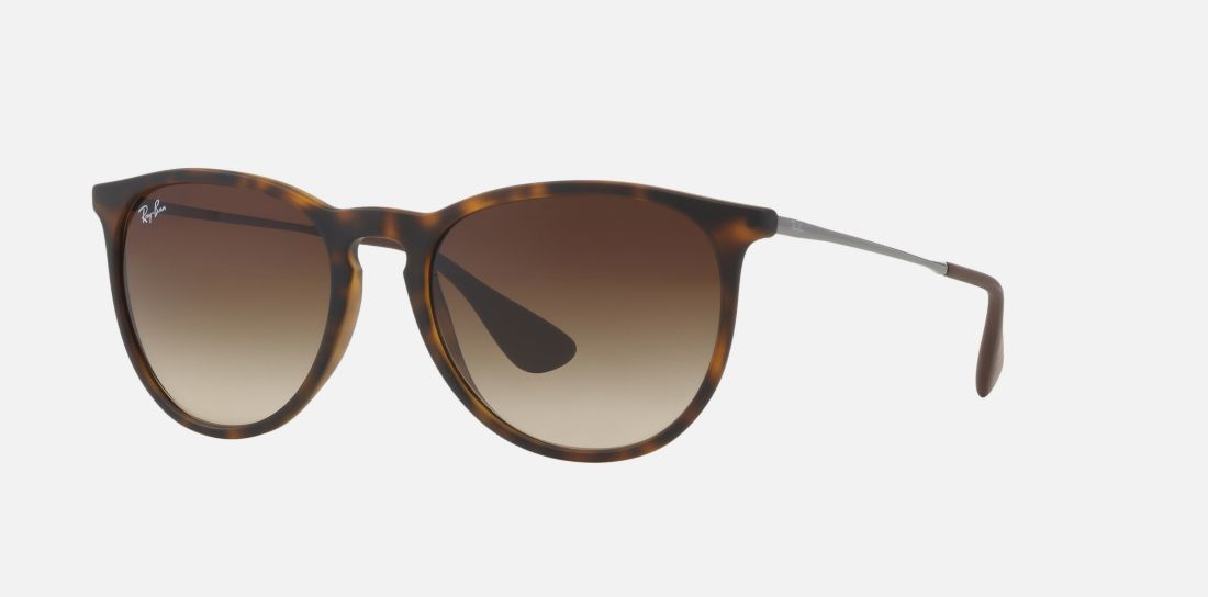 c7b4981faf8 Ray-Ban RB4171 ERIKA 54 Brown   Tortoise Sunglasses
