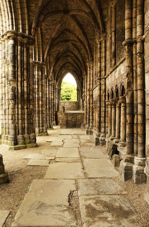 Holyrood Abbey -  Edinburgh, Scotland