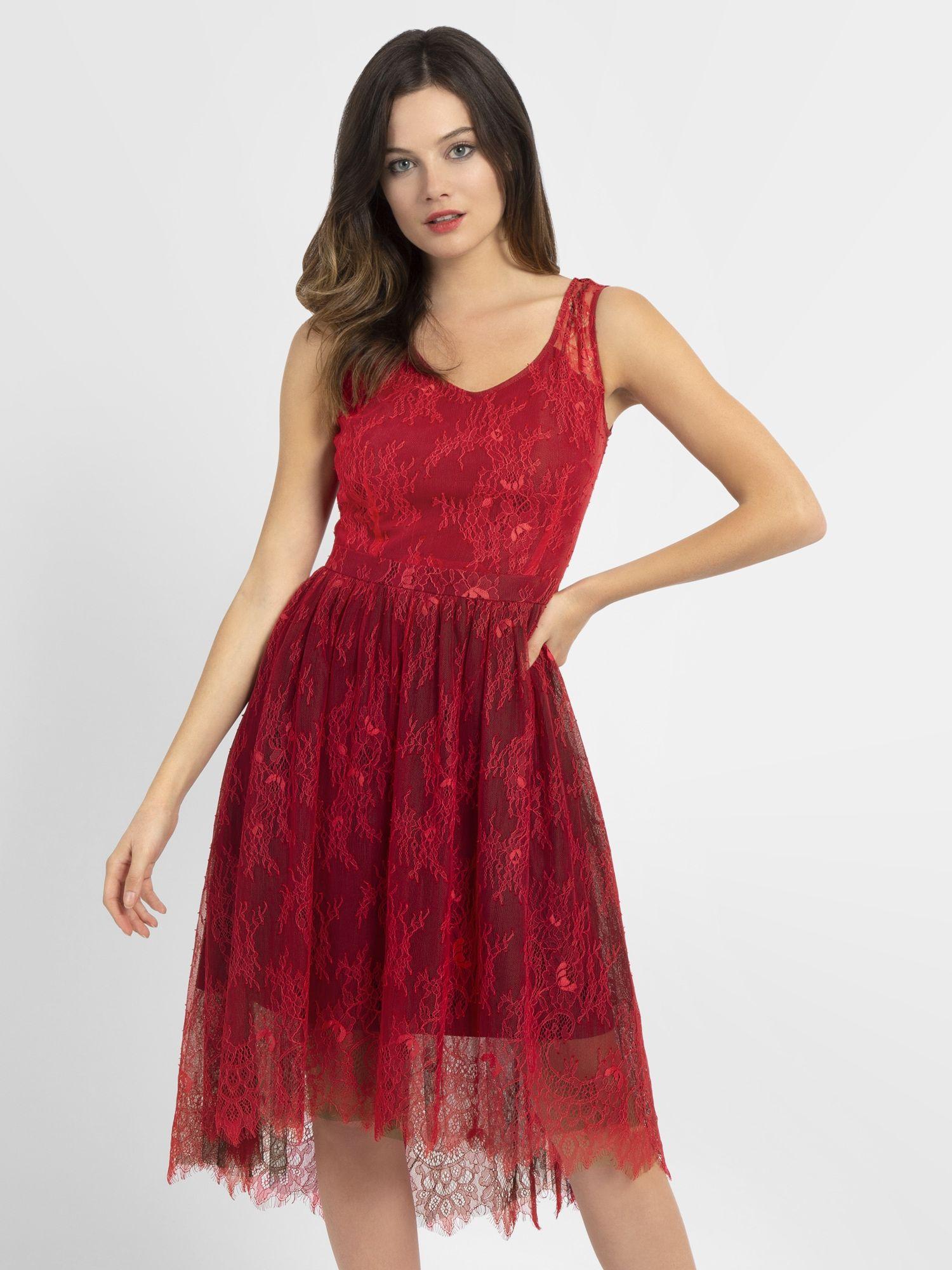 apart kleid damen pastellpink / rot größe 38 in 2020