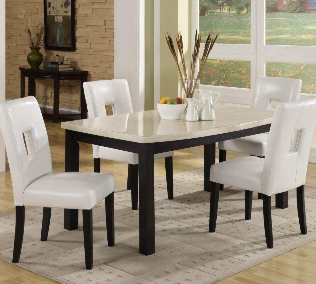 White Dining Room Set Homelegance Archstone 5 Piece 60 Inch Dining Room Set W White Ide Dekorasi Kamar Ide Dekorasi Dekorasi