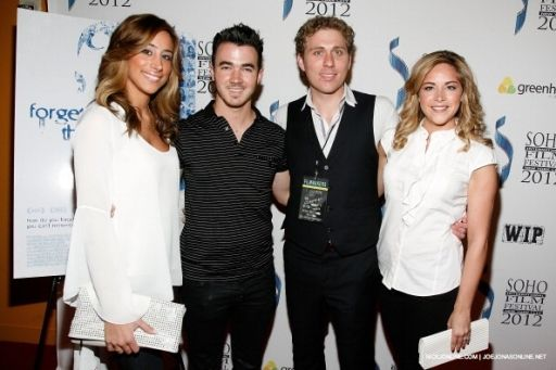 Kevin & Dani Jonas and Brian & Dina Bean (Dani's sis & bro in-law)