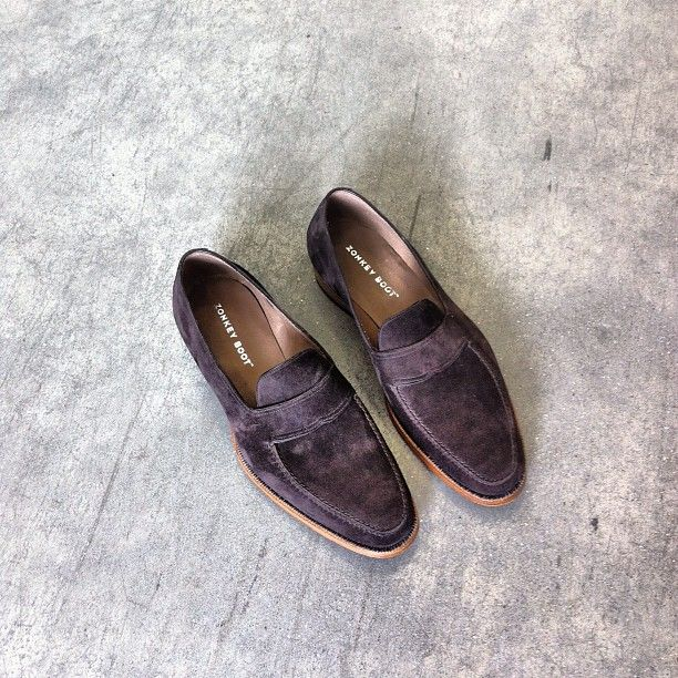 Zonkey Boot -  Hand-welted loafers with hand-stitched aprons.