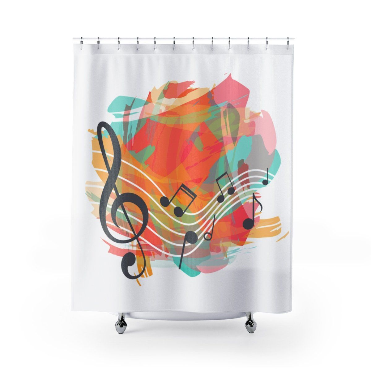 Music Note Shower Curtain Music Notes Music Notes Music Notes