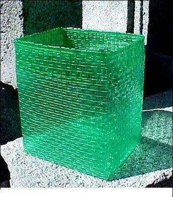 Plastic strip craft