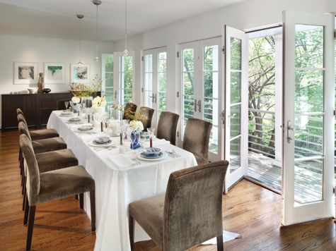 Roberson's #dining #room #addition Was Designedarchitect Beauteous Dining Room Addition Design Decoration