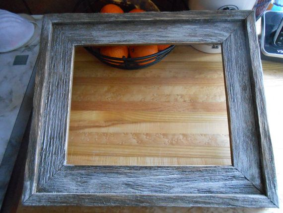 rustic 16x20 aged barnboard picture frames by logcabindecor 3000 holds 16 x 20 photo