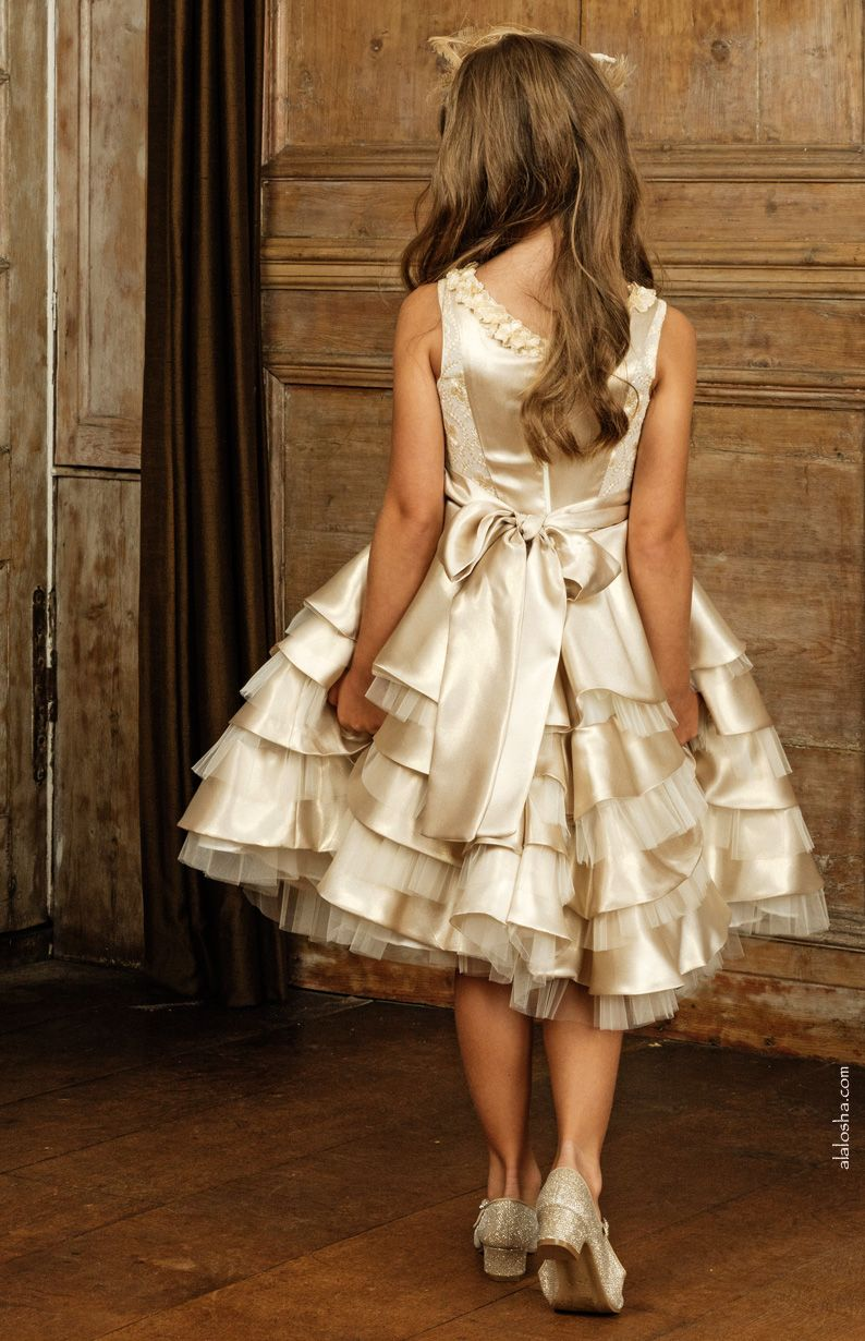 Young girls wedding dresses  Luxury designer Michelle Bray create the exquisite special occasion